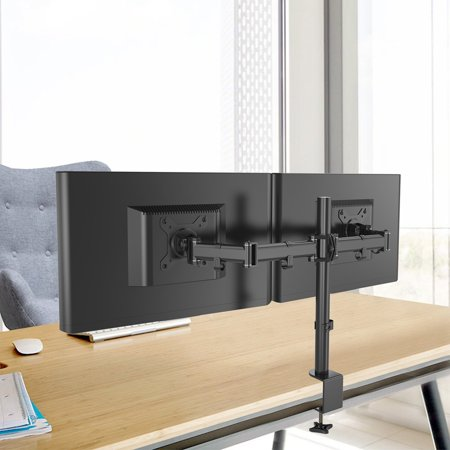 Miraculous Zimtown 2 Lcd Screens Arms Dual Monitor Mount Desk Tv Download Free Architecture Designs Xoliawazosbritishbridgeorg