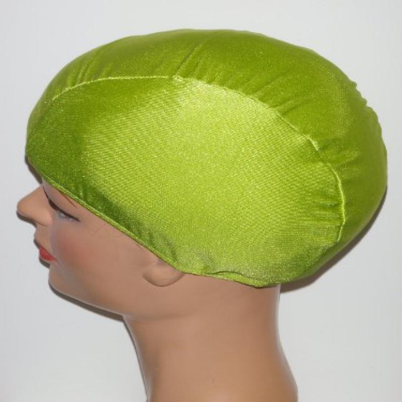 Extra Large Pea Pod Green Lycra Swim Cap (XL)