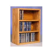 CD Storage Rack (Honey Oak)