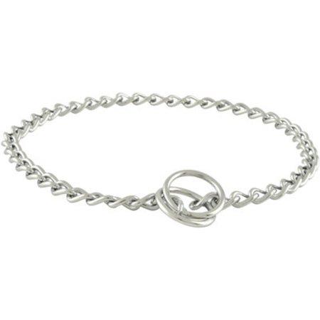 2.5 Mm Choke Chain - Chrome Choke Chains - 2.5 mm, Small Chain Dog Collar, 16 (up to 30 lbs)