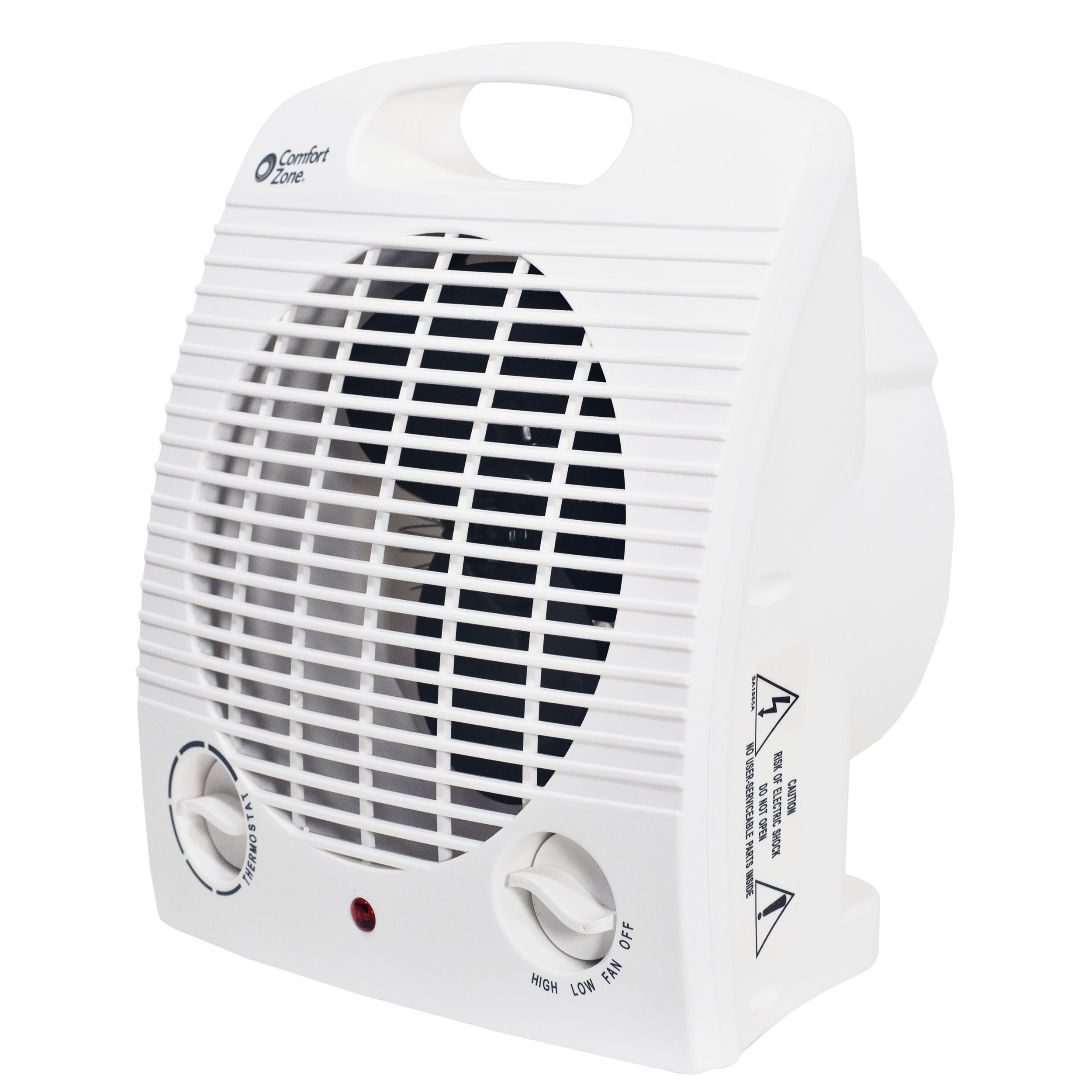 Impress IM-701 1500-Watt Heater Compact Fan with Adjustable Thermostat Safety