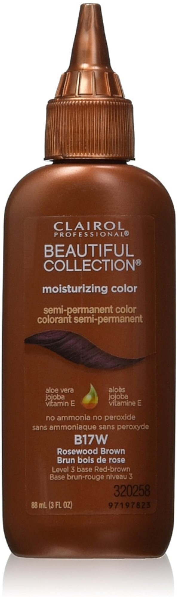 Clairol professional beautiful collection semi permanent hair clairol professional beautiful collection semi permanent hair color rosewood brown b17w 3 oz walmart geenschuldenfo Gallery