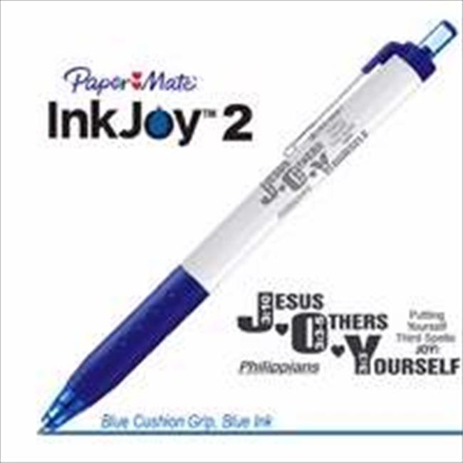 G T Luscombe 129076 Pen Paper Mate Inkjoy 2 Pen Philippians Blue - image 1 de 1