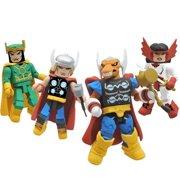 Minimates Marvel Thor Stormbreaker SDCC 2011 Exclusive Action Figure Box Set
