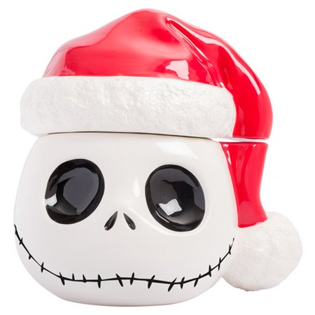 Vandor LLC Nightmare Before Christmas Christmas Cookie Jar