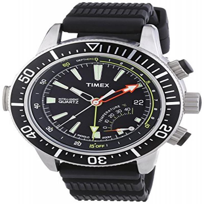 Timex Intelligent Quartz T2N810 Mens Indiglo Depth Gauge ...