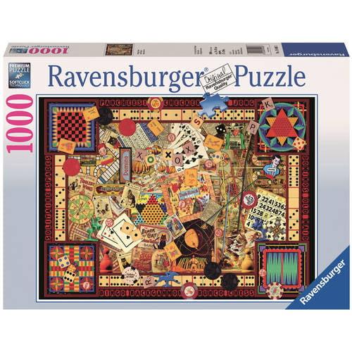 Vintage Games Puzzle, 1000 Pieces by Ravensburger