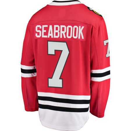 9d56a9b10 Brent Seabrook Chicago Blackhawks NHL Fanatics Breakaway Home Jersey -  image 1 of 2 ...