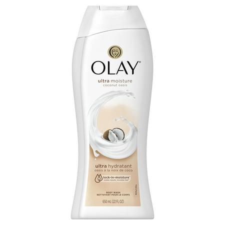 Olay Ultra Moisture Coconut Oasis Body Wash, 22 (Creamy Coconut Body Splash)
