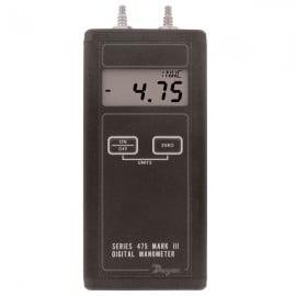 """Dwyer 475-3-FM Digital Manometer (0-200.0""""w.c.)"""