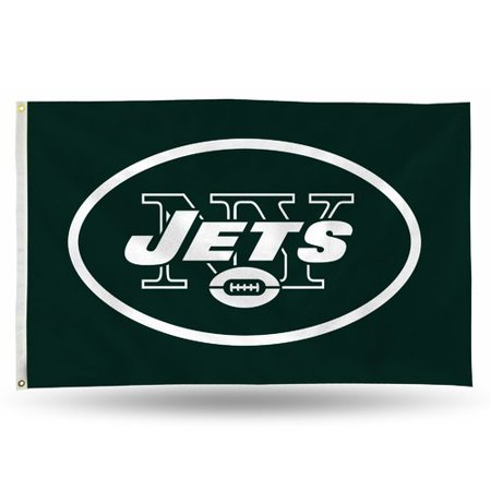 Nfl Zippo New York Jets - Rico Industries NFL 3' x 5' Banner Flag, New York Jets