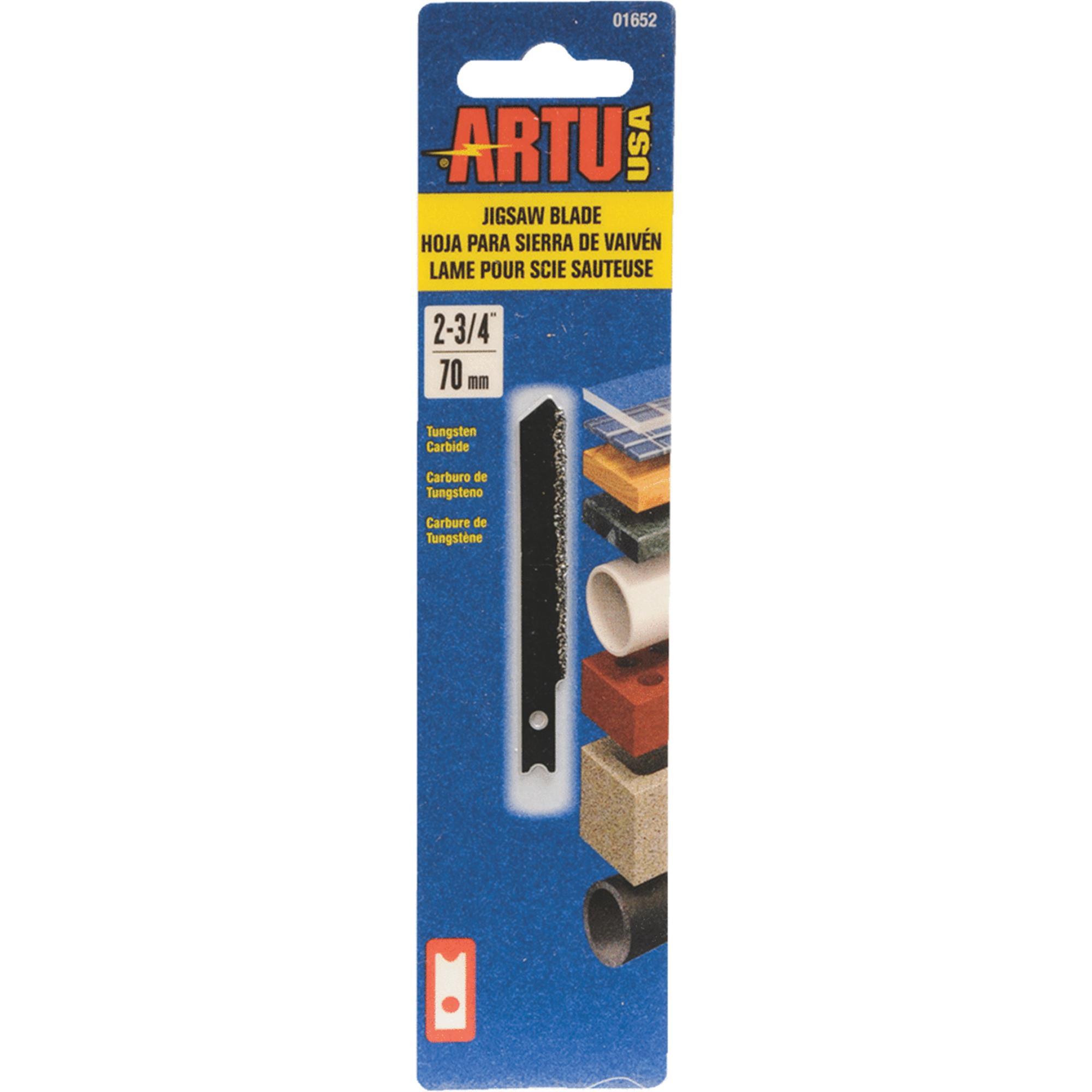 ARTU Tungsten Carbide Grit Jig Saw Blade by Artu-usa