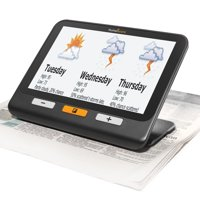 HumanWare explore 8 handheld electronic magnifier, Low Vision, Reading Aids, 7 inch