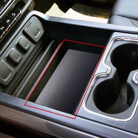 - Secret Compartment Center Console Organizer Tray Fit 2014-2018 Chevrolet Silverado GMC Sierra