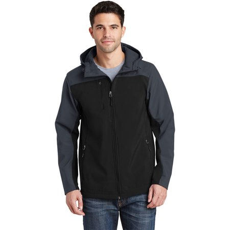 Port Authority Men's Hooded Core Soft Shell Jacket ()