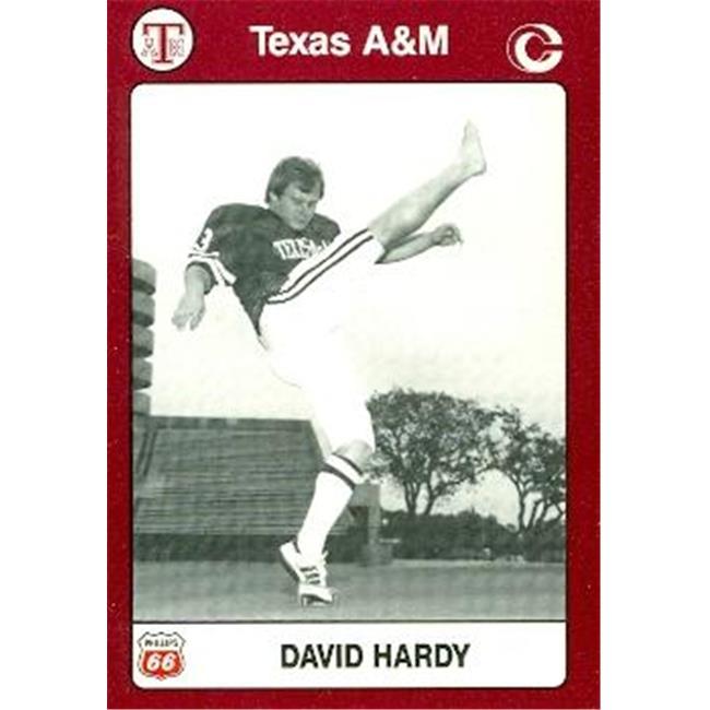 David Hardy Football Card (Texas A&M) 1991 Collegiate Collection No.99