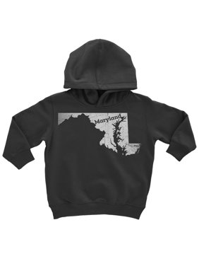6c21e93c Product Image X-Small / Gray Maryland Kids Pullover Hoodie Home Shirt