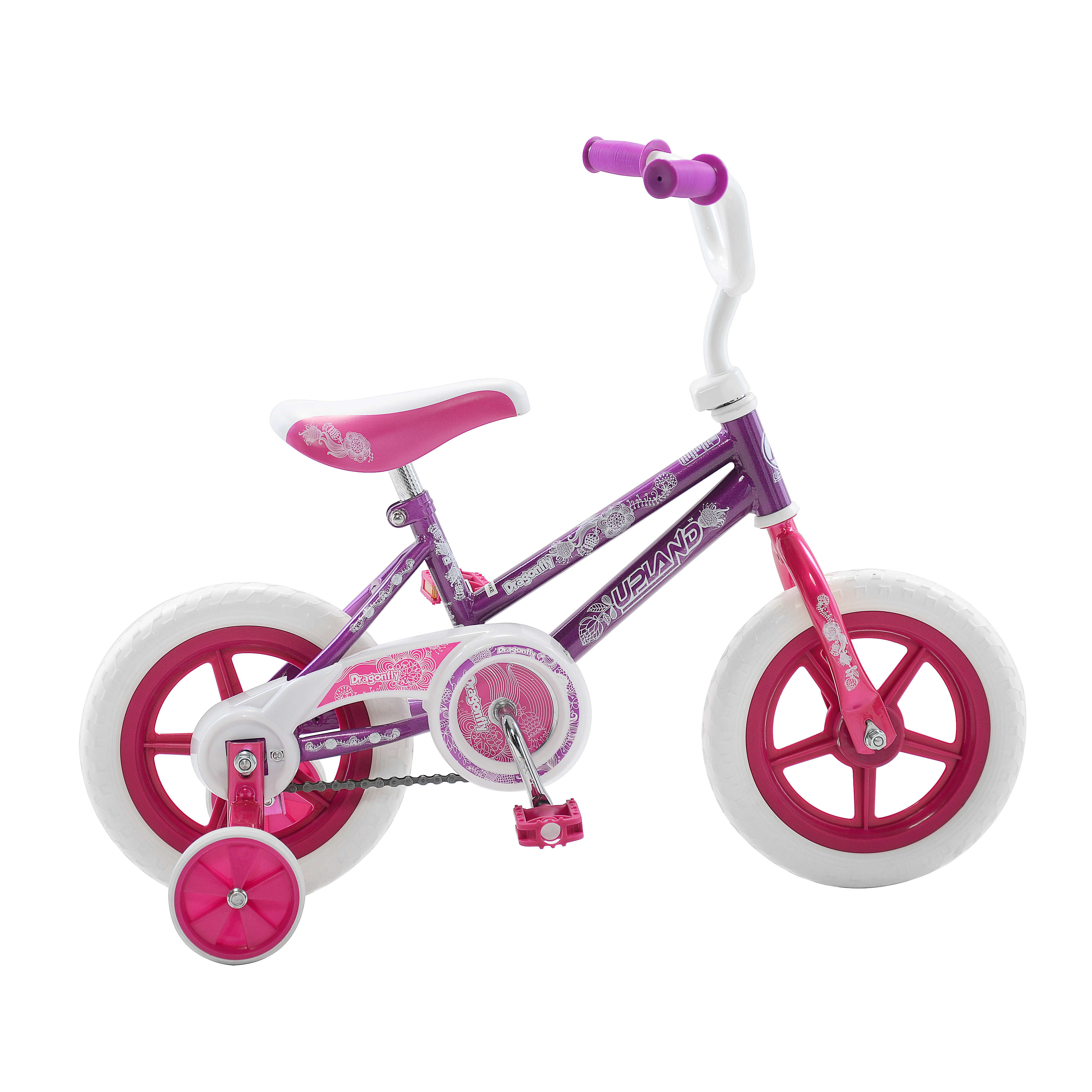 "Dragonfly 12"" Girls Bicycle by Upland"