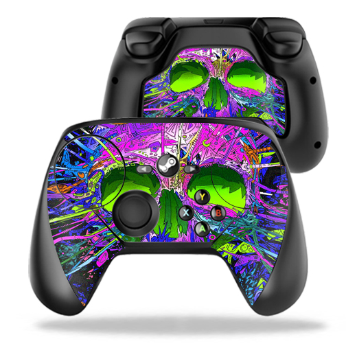 MightySkins Protective Vinyl Skin Decal for Valve Steam Controller case wrap cover sticker skins Hard Wired