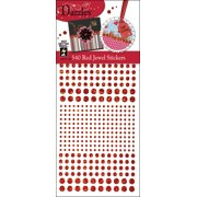 Dazzles Stickers-Red Jewels