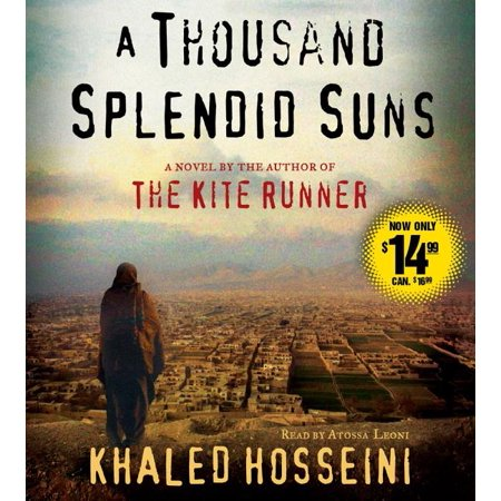 A Thousand Splendid Suns : A Novel AFTER MORE THAN TWO YEARS ON THE BESTSELLER LISTS, KHALED HOSSEINI RETURNS WITH A BEAUTIFUL, RIVETING, AND HAUNTING NOVEL OF ENORMOUS CONTEMPORARY RELEVANCE.  A Thousand Splendid Suns is a breathtaking story set against the volatile events of Afghanistan's last thirty years -- from the Soviet invasion to the reign of the Taliban to post-Taliban rebuilding -- that puts the violence, fear, hope and faith of this country in intimate, human terms. It is a tale of two generations of characters brought jarringly together by the tragic sweep of war, where personal lives -- the struggle to survive, raise a family, find happiness -- are inextricable from the history playing out around them.  Propelled by the same storytelling instinct that made The Kite Runner a beloved classic, A Thousand Splendid Suns is at once a remarkable chronicle of three decades of Afghan history and a deeply moving account of family and friendship. It is a striking, heart-wrenching novel of an unforgiving time, an unlikely friendship, and an indestructible love -- a stunning accomplishment.