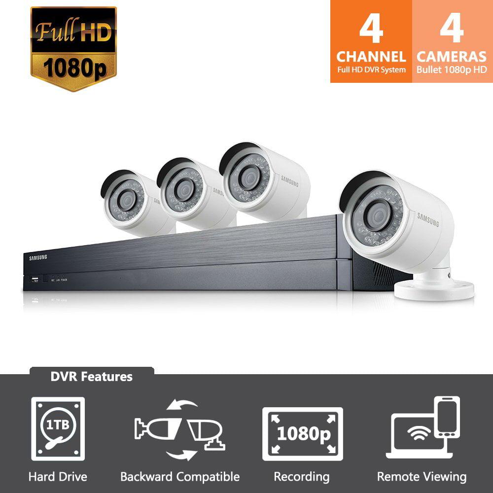 Samsung SDHB73043N 4 Cam Dvr System/4-hd Cams +1 Tb