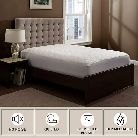 THE GRAND - Mattress Pad Cover - Fitted - Quilted - Full (54