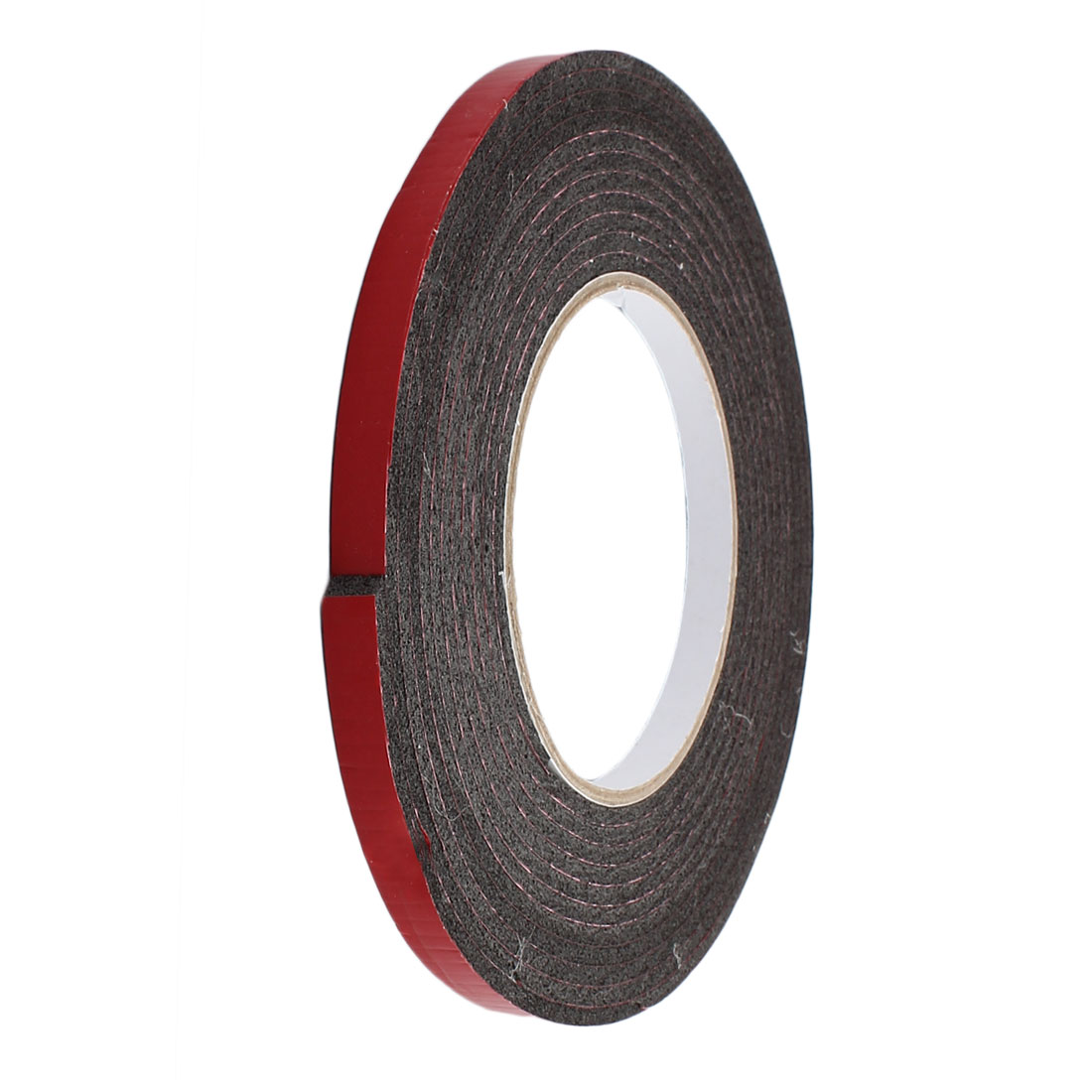 8mm x 3mm Single Sided Self Adhesive Shockproof Sponge Foam Tape 5M Length Red