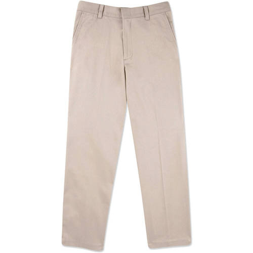 George Boys School Uniforms Slim-Fit Flat Front Pants