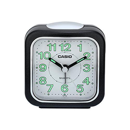Casio #TQ142-1DF Table Top Travel with Light Alarm Clock