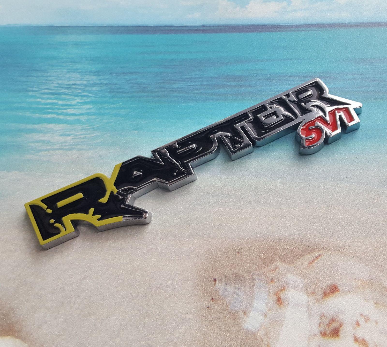 Metal Black Silver Raptor Svt Emblem Badge Decal Sticker Ford F150 Ranger T6 Walmart Com Walmart Com