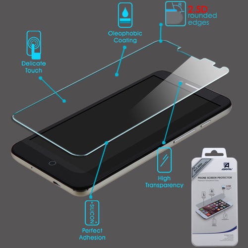 For Alcatel One Touch Fierce XL Shatterproof Tempered Glass Screen Protector