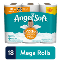 Deals on Angel Soft Toilet Paper 18 Mega Rolls