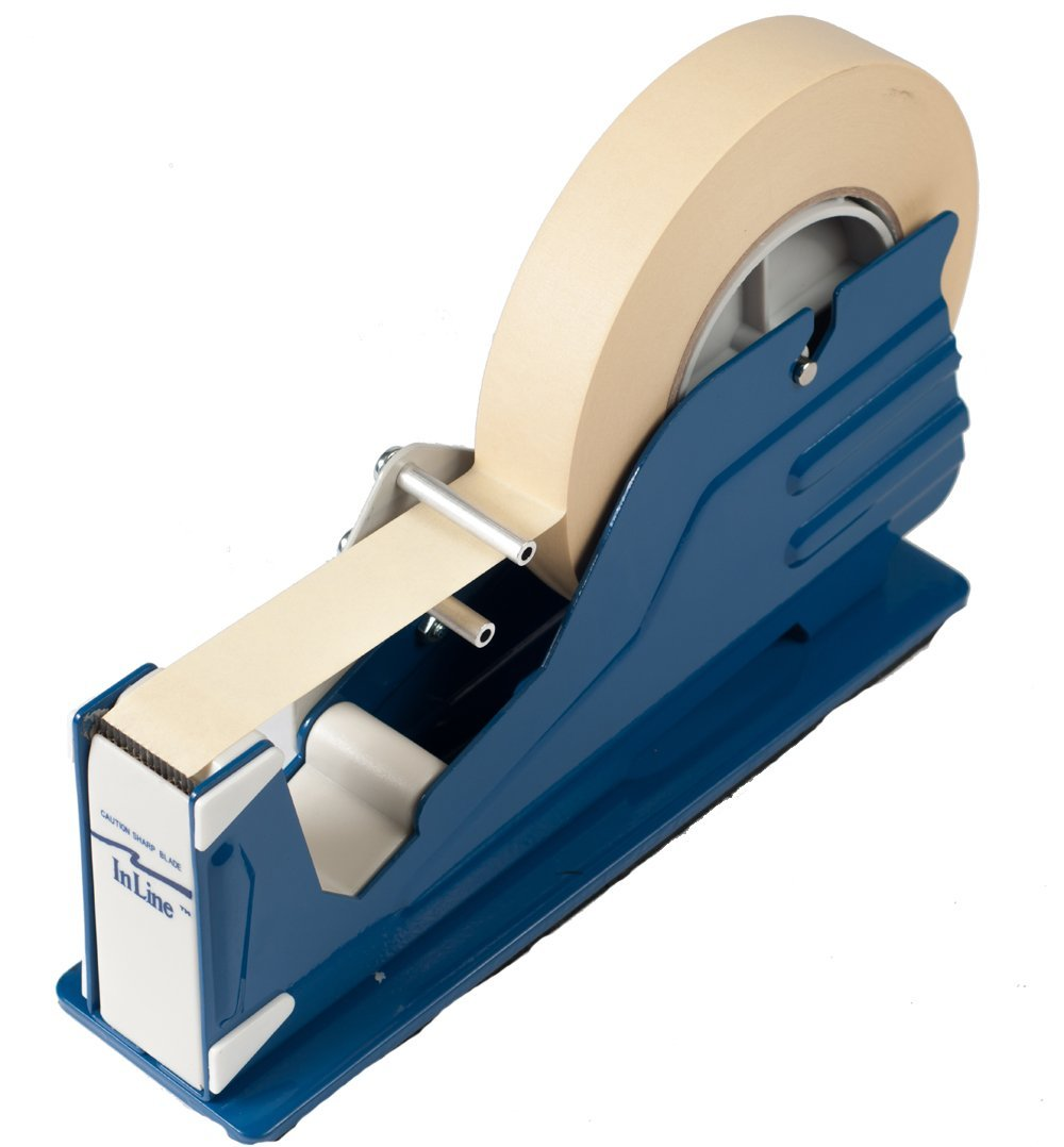 """Bertech General Purpose Tape Dispenser for 1"""" Wide Tapes by"""