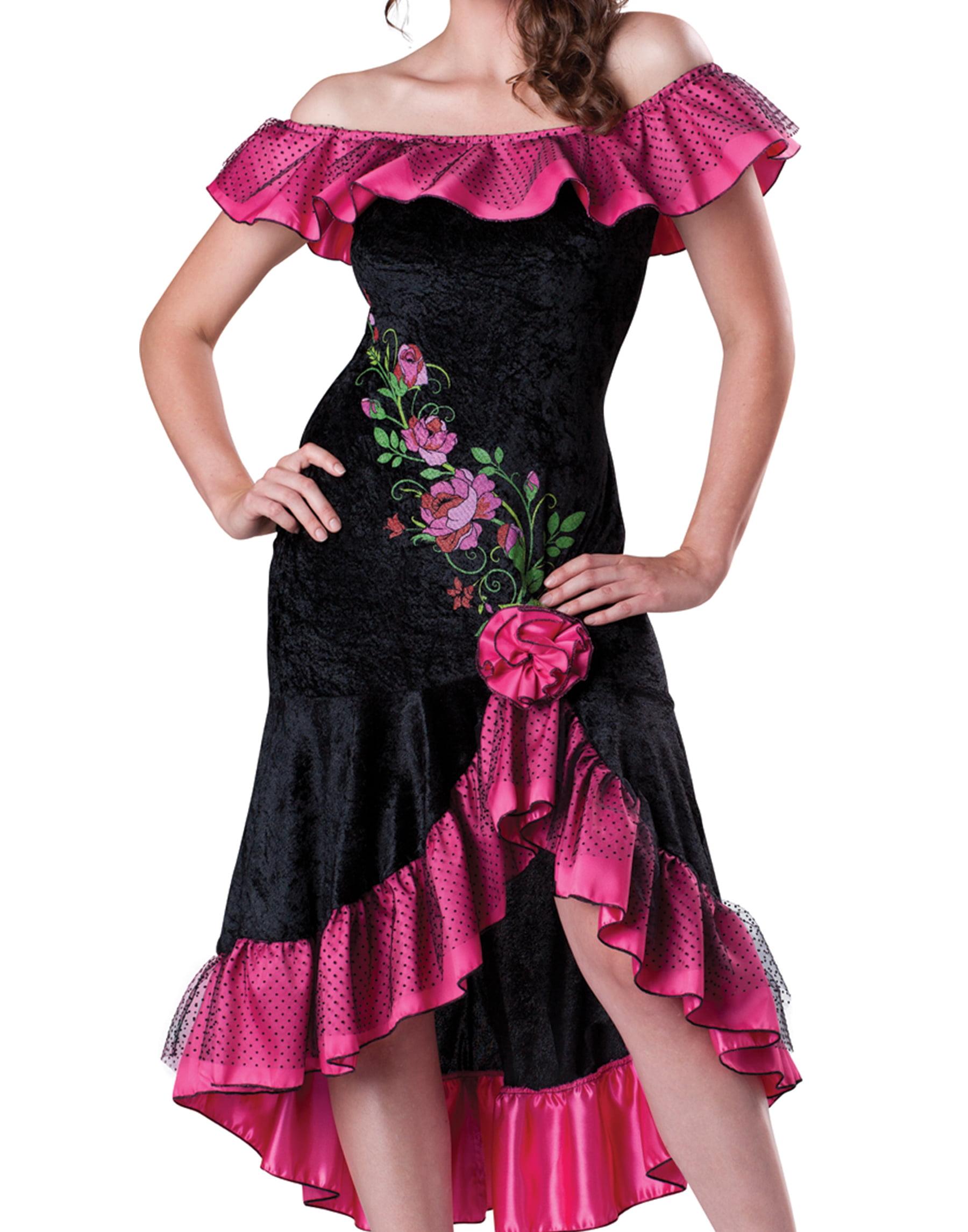 InCharacter Flirty Flamenco Spanish Adult Womens Hallowen Costume 11040