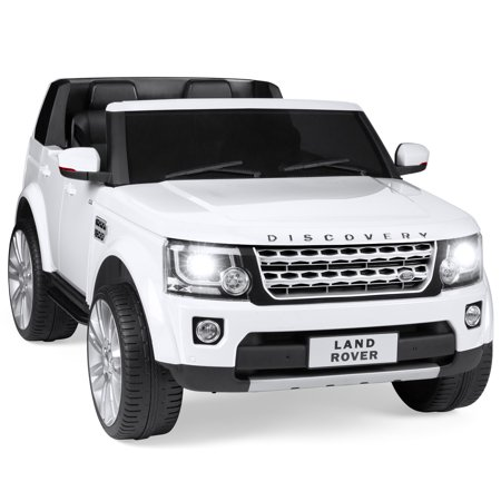 Best Choice Products Kids 12V Licensed Land Rover Ride On w/ RC, Lights/Sounds, MP3,