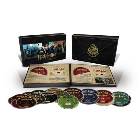 - Harry Potter Hogwarts Collection (Blu-ray + DVD + Digital HD)