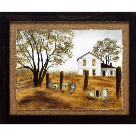 Artistic Reflections 'Old Crocks Primitive Country Farm Landscape' by Billy Jacobs Framed Photographic Print ()