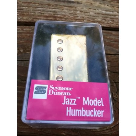 - Seymour Duncan SH-2n Jazz Model NECK Humbucker Guitar Pickup - Gold Cover