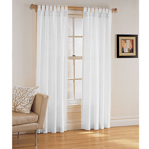 White Drop Cloth Curtains Black And White Curtains Lowes