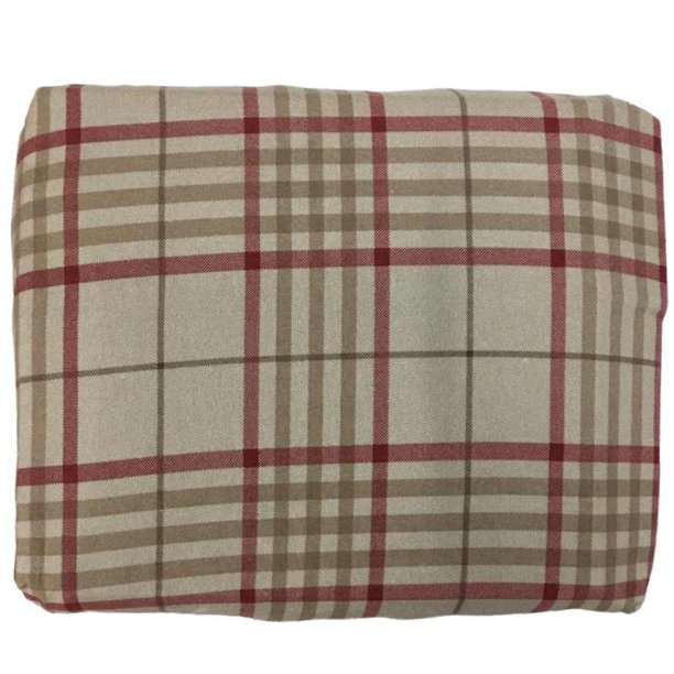 Cuddle Duds Flannel Sheet Set Khaki Red Plaid King Bed Sheets Bedding Walmart Com Walmart Com