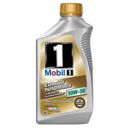 (3 Pack) Mobil 102990 Extended Peformance 10W-30 Synthetic Motor Oil 1 Quart