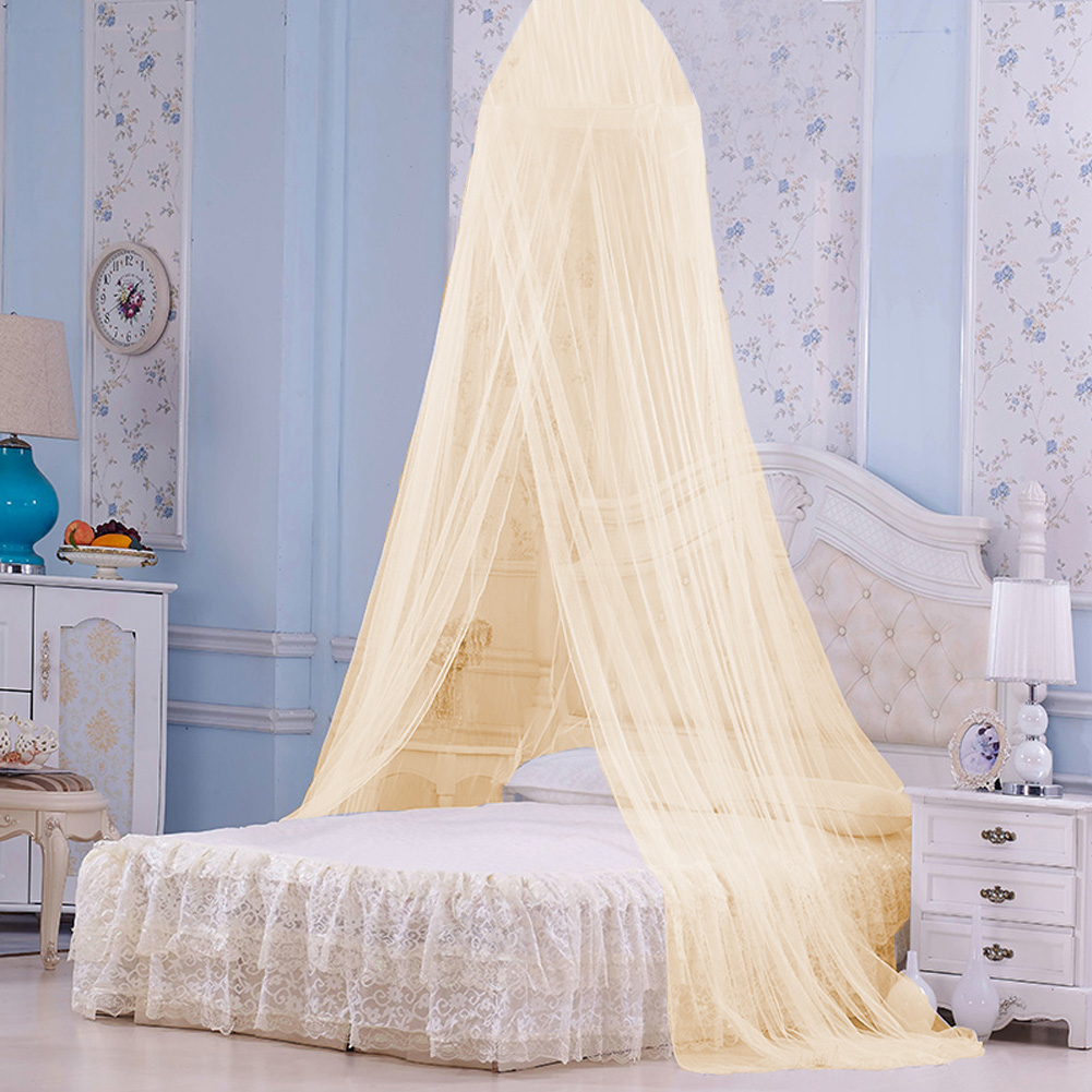 - Cergrey Baby Kids Round Dome Bed Canopy Mosquito Netting