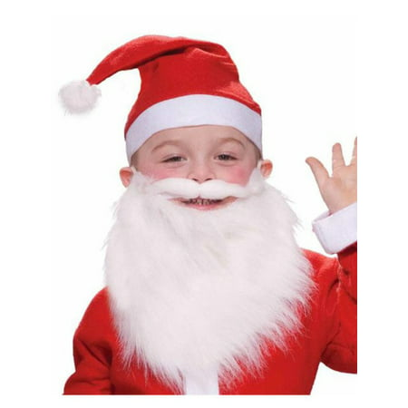 Child Santa Beard - Fake Beard For Kids