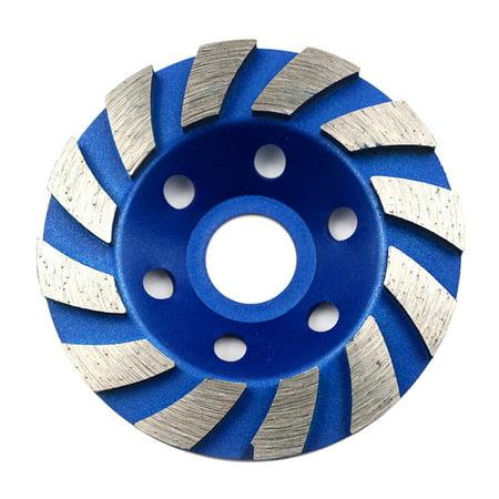 "4"" 100mm Diamond Segment Grinding Wheel Disc Grinder Concrete Granite Stone Cut"