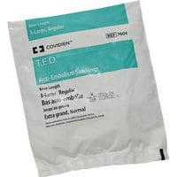 T.E.D. Anti-embolism Stockings Knee-high X-Large, Regular White Inspection Toe  2 Pack