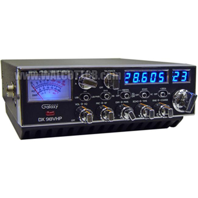 Galaxy DX98VHP 200 Watt 10Meter Am-Usb-Lsb Echotbrb