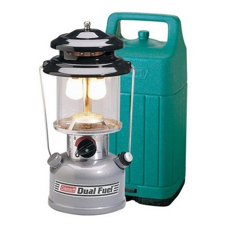 Coleman Dual Fuel Mantel Lantern with Hard Carry Case ()