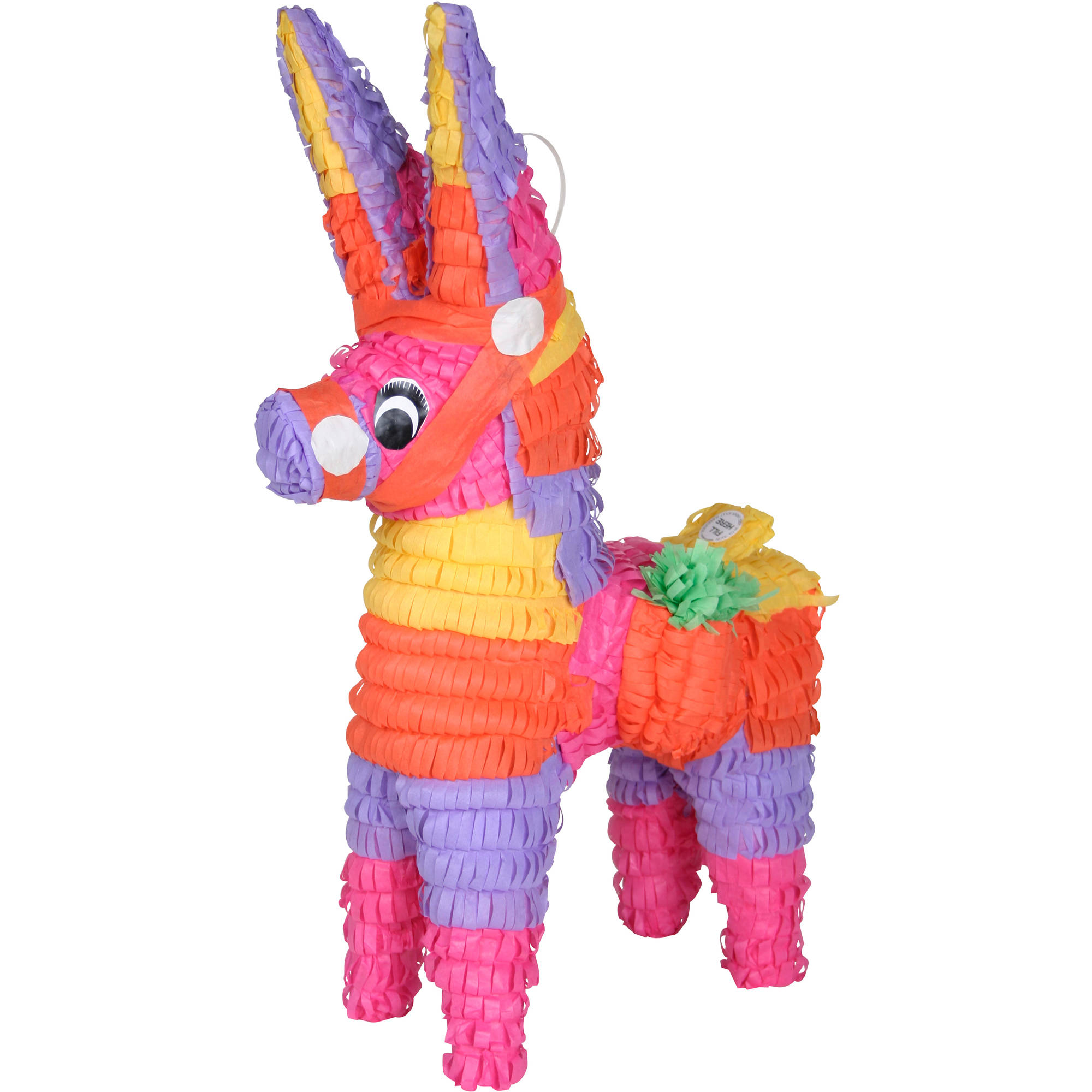 Donkey Party Piñata, Hand Crafted with Traditional Techniques