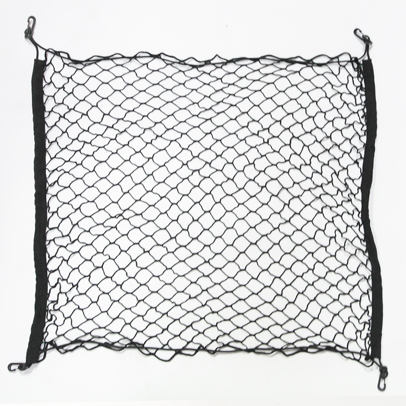 Trunk Cargo Net 2-Layers Storage Organizer with Hooks For 1990-1990 Toyota 1 Set For Corolla